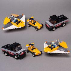LEGO MOC 60289 United Three by Keep On Bricking | Rebrickable - Build with LEGO