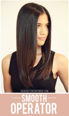Tutorial time! Learn our favorite trick for getting that perfect bend when flat ironing. No more accidental kinks! xo