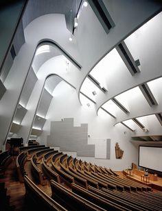 "scandinaviancollectors: ""ALVAR AALTO, Otaniemi (University of Technology, auditorium), Espoo, Finland, 1960-1964. / Google """