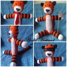#handmade #artesanato #crafts #artesania #costura #sewing #almofadas #pillows #haroldo #hobbes #calvinandhobbes #personagens