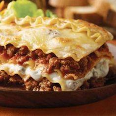 Lasagna de Carne Molida