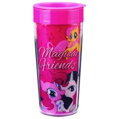 My Little Pony Magical Friends 16 oz. Travel Mug