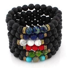 Zara Magma Stone ...  http://monroe-apparel.myshopify.com/products/zara-magma-stone-bracelet?utm_campaign=social_autopilot&utm_source=pin&utm_medium=pin
