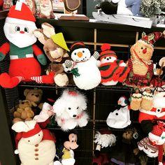 Christmas display at Sanatoga