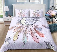 Bohemian | Bohemian Shrine Bohemian Bedding Sets, Hippie Bedding, 3d Bedding Sets, Comforter Sets, Purple Duvet, Girls Bedroom, Bedroom Ideas, Bedroom Stuff, Bedroom Inspo