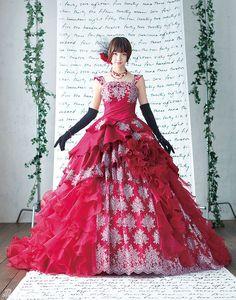 Shinoda Mariko in LOVE MARY dress