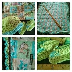 Receiving blanket gift set #169 in Portland, OR (sells for $40)
