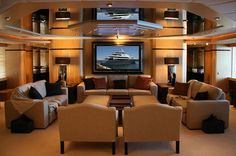 Glamorous Yachts Interior Design Examples That Will Amaze You 24