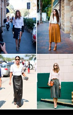 » Leather Skirt Street Style Mi armario en ruinas