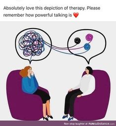 """Therapy Sh*posts For People With Issues Memes) - Funny memes that """"GET IT"""" and want you to too. Get the latest funniest memes and keep up what is going on in the meme-o-sphere. Mental Health Matters, Mental Health Awareness, Child Mental Health, Mental Health Humor, Mental Health Therapy, Health Education, Physical Education, Depression Anime, Inspiration Quotes"""