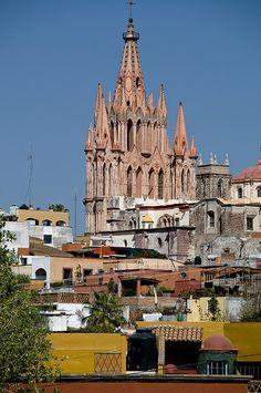 La Parroquia San Miguel Arcangel, San Miguel de Allende, Mexico