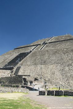 State of Mexico, Archaeological Zone of Teotihuacan, Pyramid of the Sun.