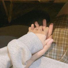 Yoongi and Jungkook holding hands