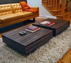 zebra wood coffee table - google search | ideas for condo