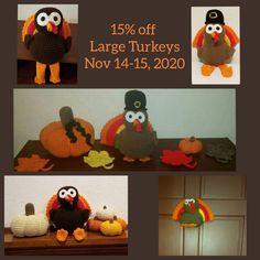 Turkey sale Nov 14-15, 2020! Get 15% off large turkeys!!