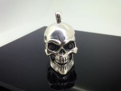 Httpsfacebooktribalcreations sterling silver skull sterling silver skull pendant it is fully three dimensional and was originally carved in wax mozeypictures Image collections