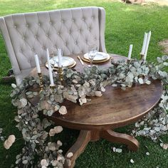 Sweetheart Table by Blossom Farm Vintage Rentals