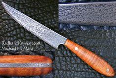 Custom Handmade Knives - Rendezvous Steak Knife