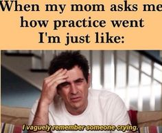 This just about sums up practice