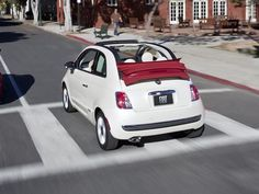 Nothing better than a nice Fiat 500c.