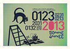 carte de vœux © 2013