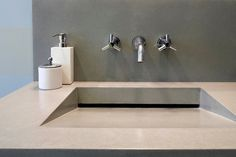 concrete sink  Boutique Sinks for Small Bathrooms - NYTimes.com