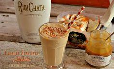 This Caramel Rumchata Milkshake mixed with rumchata and caramel gelato or ice cream creates one of the best adult milkshake recipes.