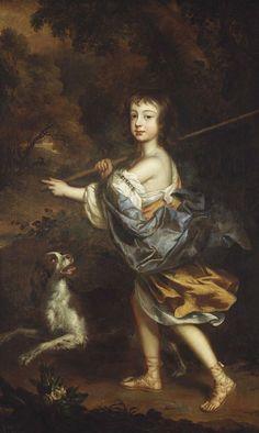 Willem Wissing (1656-87) - James, Duke of Cambridge (1663-7)
