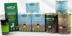 Artisan, Scrumptious, 3 Days of Christmas Lily's Kitchen Special Package;400g tin of Goose and Duck for Christmas Eve,400g tin of Three Bird Feast for Christmas Dinner,400g tin of Fishy Fish Pie for Boxing Day, with a box of Christmas biscuit treats and 3 60g boxes of Breakfast Crunch and a 40g tub of Bugs Away Lily's Kitchen http://www.amazon.co.uk/dp/B00OG587WS/ref=cm_sw_r_pi_dp_D2JEub153ZAY7