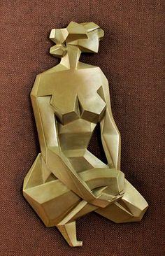 Image result for cubist female sculpture