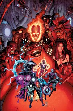 UNCANNY AVENGERS ANNUAL #1 RICK REMENDER (W) • Paul Renaud (A) Cover by ART ADAMS VARIANT COVER BY PAUL RENAUD • The first appearance of the Avengers of the Supernatural! - See more at: http://www.newsarama.com/20046-marvel-comics-april-2014-solicitations.html#sthash.GU4uQrG7.dpuf
