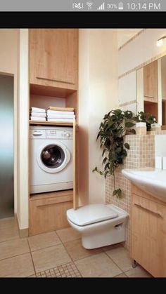 Kitchens with a laundry area for the home pinterest washer schowki w azience zabudowa pralki storage in the bathroom washing machine building mais solutioingenieria Image collections