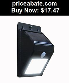 Farm-Garden: Outdoor LED Wireless Solar Powered Motion Sensor Light Security Lamp Detector - BUY IT NOW ONLY $17.47