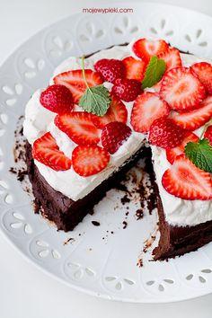 Bezmączne ciasto czekoladowe