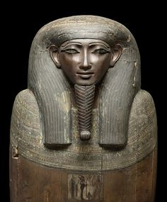 Inner coffin of Paiestenef, Egypt, Thebes/West, Late Period, 22nd/23rd Dynasty, 8th c. BCE © Staatliche Museen zu Berlin, Ägyptisches Museum und Papyrussammlung / Sandra Steiß