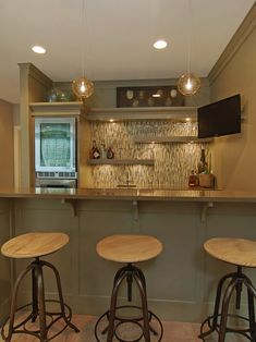 Basement Basement Bars Design, Pictures, Remodel, Decor and Ideas