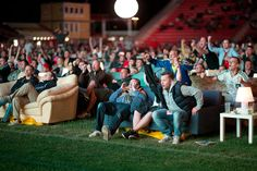 Union Berlin stadium becomes World Cup 2014 living room