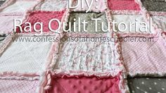Rag Quilt Project | Beverly's How-To - YouTube