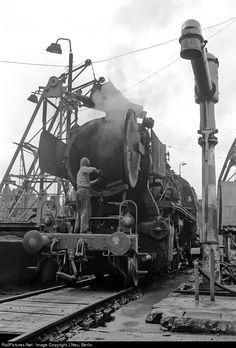 RailPictures.Net Photo: 050 207 Deutsche Bundesbahn Steam 2-10-0 at Dillingen, Germany by J Neu, Berlin