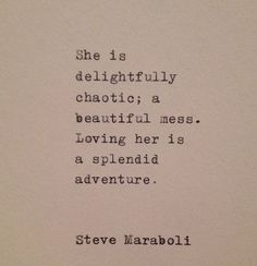 Love Quote by Steve