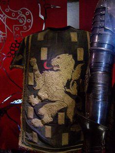 Heraldic Embroidered Tabard by rezansky, via Flickr