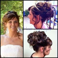 Hair By Kyla - Hair Portfolio #up-do #wedding #weddinghair #formal