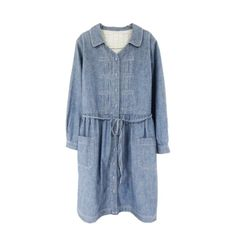 Chambray dress via XSSM.