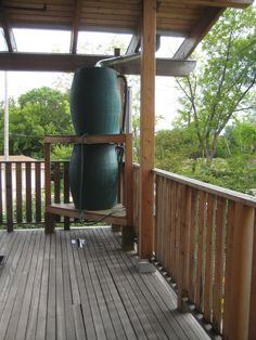 Dos & Don'ts When Making A Rain Barrel For Rainwater Collection Did you know that 623 gallons of water can be harvested from 1 inch of rain on a 1,000-square-foot roof?  A gravity-fed rainwater collection system - rain barrels! photo by vinzcha on Flickr