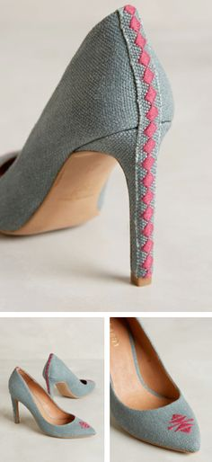 Embroidered shoes - love! #anthrofave