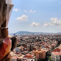 Barcelona is always a good idea. Climbing to the top of the Sagrada Familia is an even better idea. #musement  #sagradafamilia #barcelona #instamood #nofilter #travel #wanderlust #igdaily #all_shots #doubletap #monday #infinite