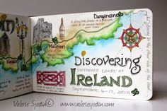visual blessings: Art Mapping & Exploring Ireland's Southeast Coast, Valerie Sjodin