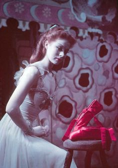 "Moira Shearer in ""The Red Shoes"""