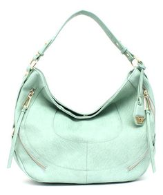 Loving this Jessica Simpson Collection Mint Kendall Hobo on #zulily! #zulilyfinds