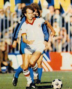 Serie A 1980-81 - Inter vs Roma -Paulo Roberto Falcão